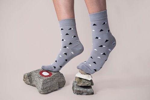 Cotton Socks // MOUNTAINS PATTERN