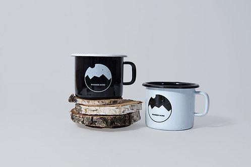 WANDER MORE // Set of 2 Enamel Mugs