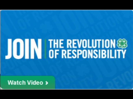 Join The Revolution Of Responsibility