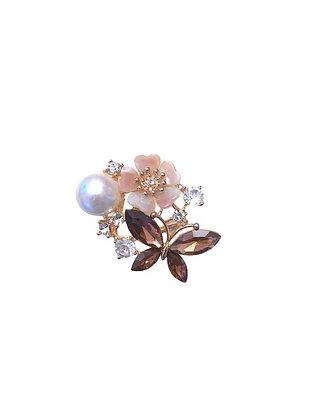 Bijou foulard papillon