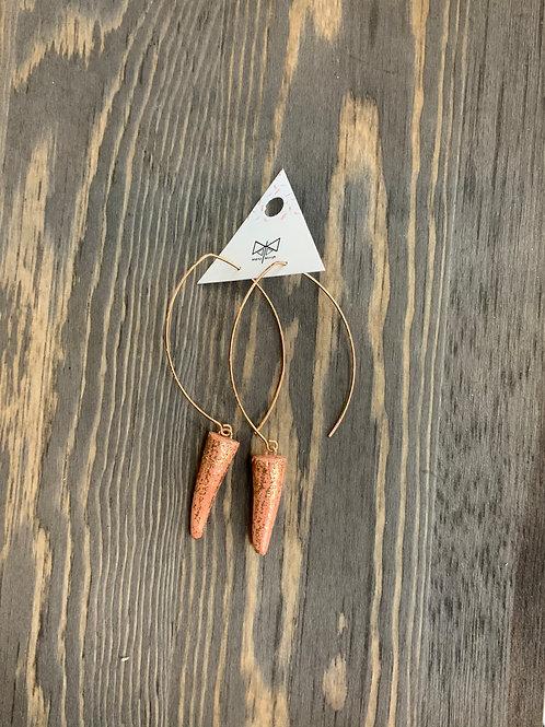 MetaMorph antler earrings