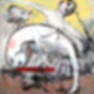 Criquet L AVENIR DE LA POESIE 120 X 120.