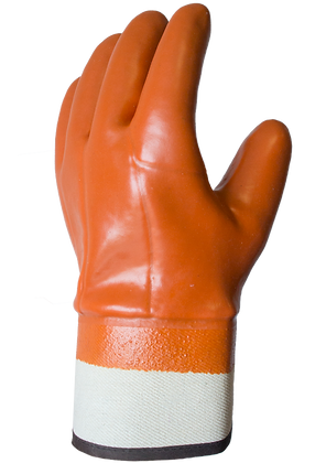 772W ANTIFRIZ. Hi-Vis Insulated PVC Dipped Glove with Smooth Finish - Knitwrist