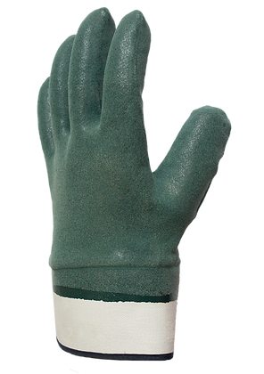 NIT007. Nitrile foam coated glove on full hand with jersey liner