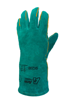 SK100. Welding split leather gloves