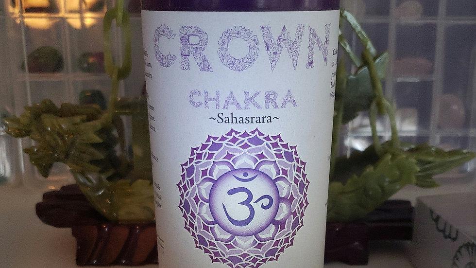 "Crown Chakra Pillar 3""x6"" Candle"