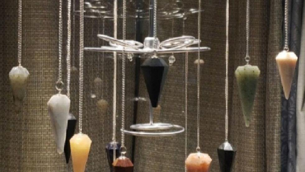 Rainbow Moonstone Pendulum