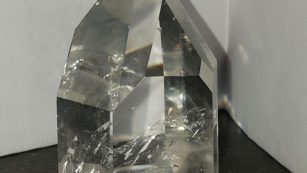 Clear quartz tower 50