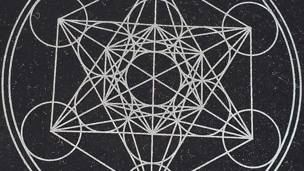 Sacred Geometry Mat: Metatron's Cube