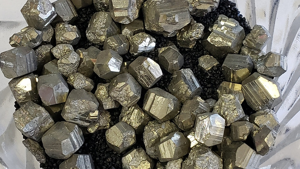 Mini Pyrite Cubes 3x