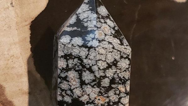Snowflake obsidian tower 21