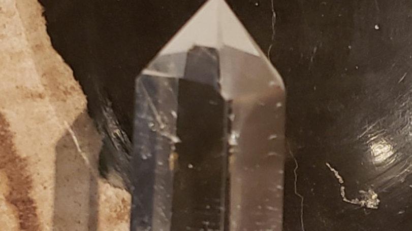 Clear quartz tower 15