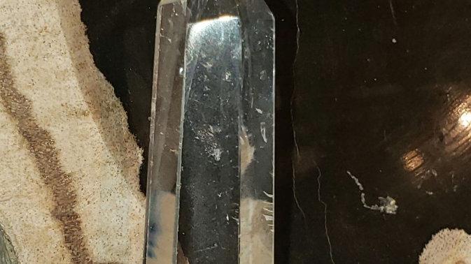 Clear quartz tower 20
