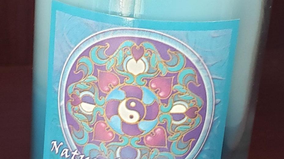 Soy Mandala Glass Votive - Natural Harmony Wellbeing