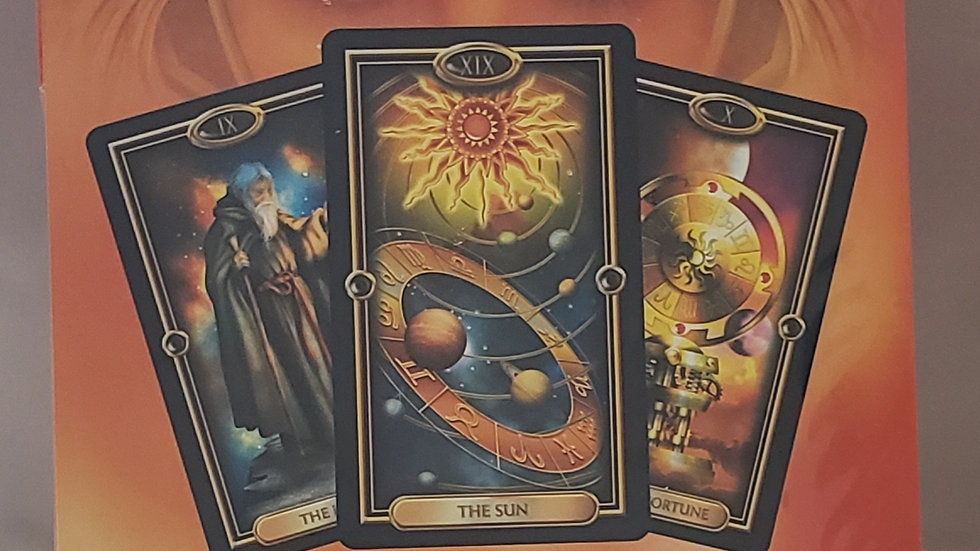 Easy Tarot Kit: Deck and Book