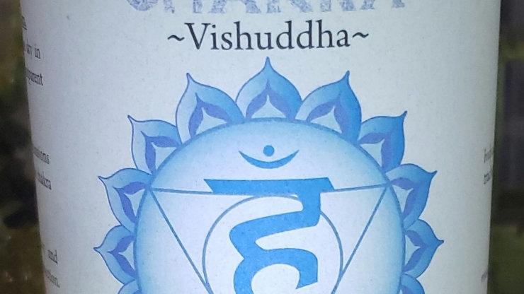 "Throat Chakra Pillar 3""x6"" Candle"