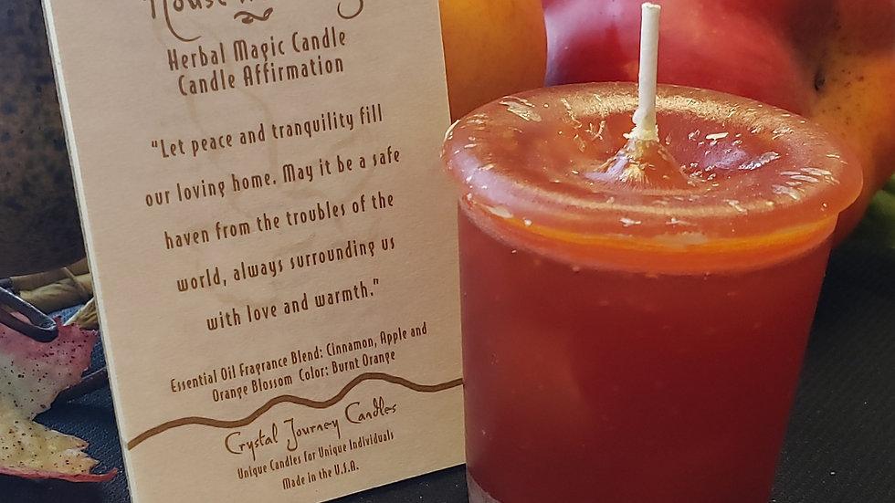 Housewarming Herbal Votive Candle