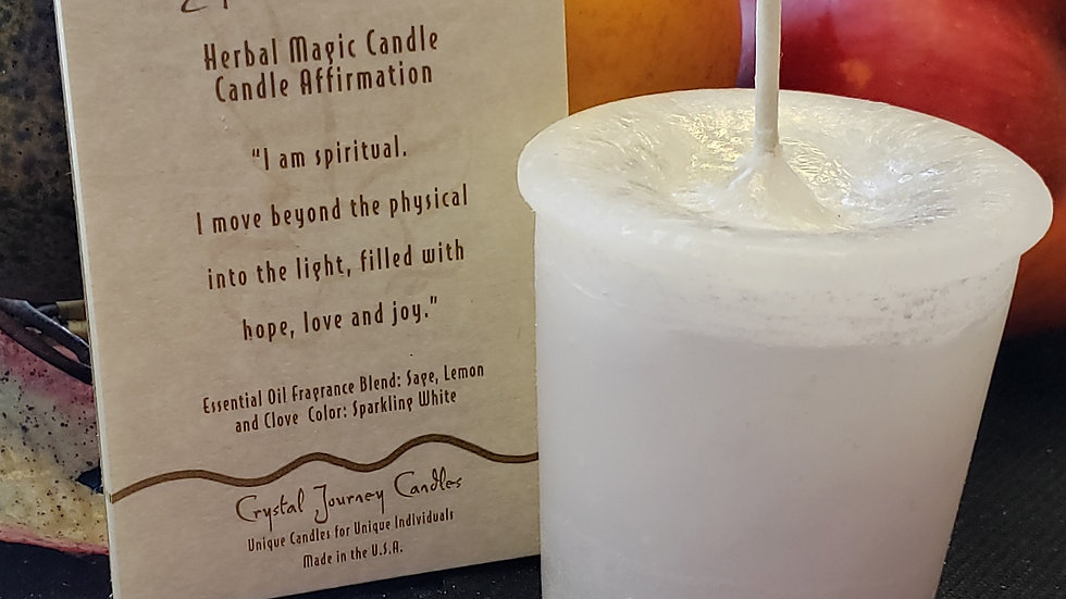 Spirit- Herbal Votive Candle