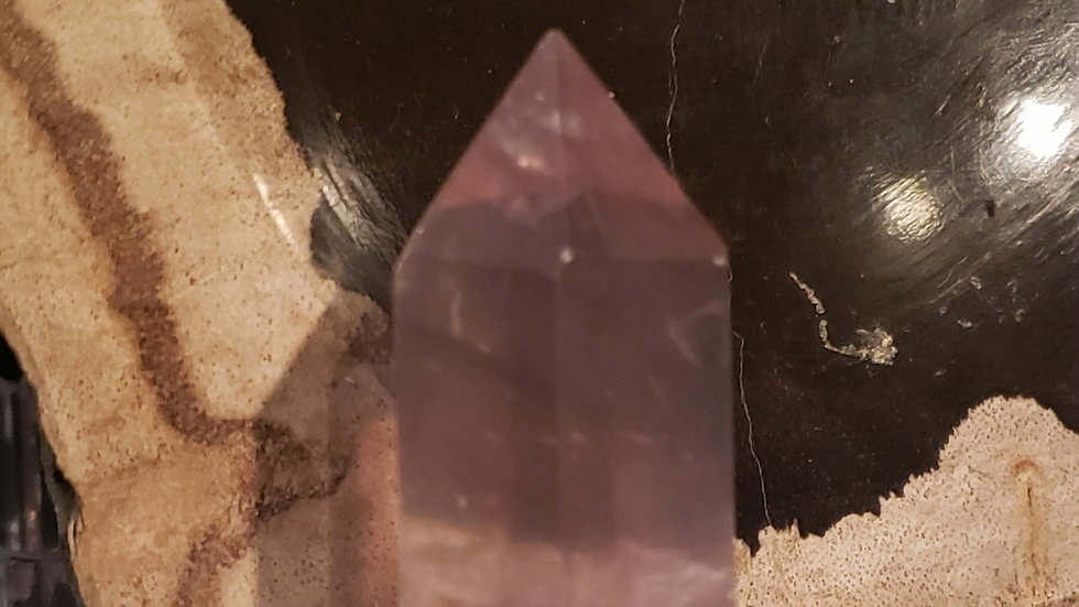 Purple Flourite tower 12