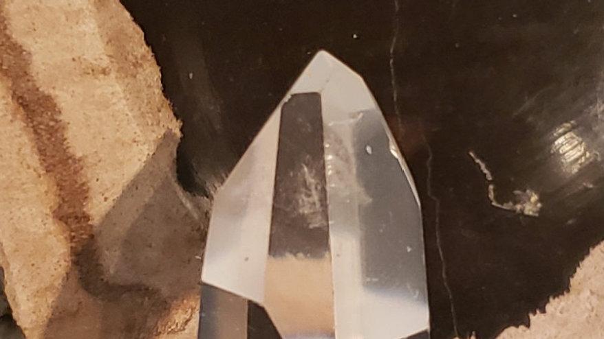Clear quartz tower 10