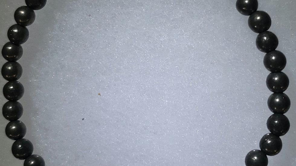 Pyrite 4 mm Bracelet