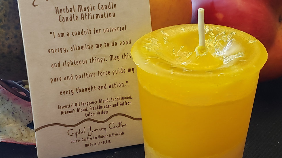 Positive Energy - Herbal Votive Candle