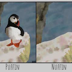 Puffin... Nuffin