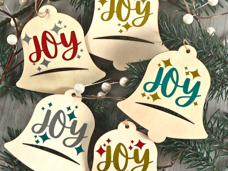 Easy Peasy Wooden Dollar Tree Ornaments