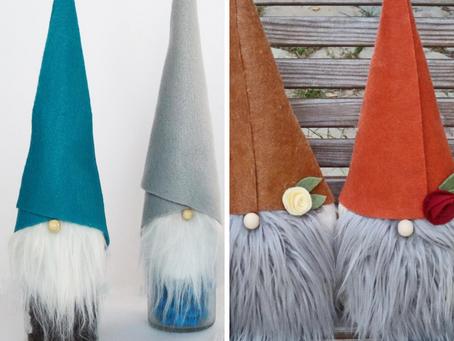 2 EASY Cutie Gnomes - Tomte Gnomes