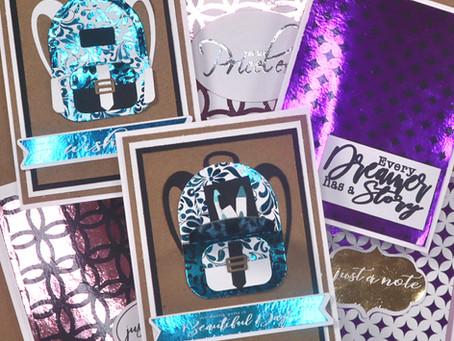 Fun Ideas for Foil on Cards