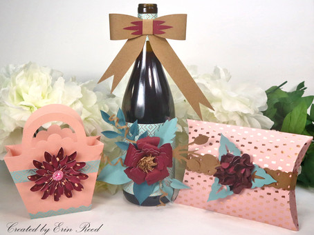 3 Paper Flower Decorated Gift Ideas