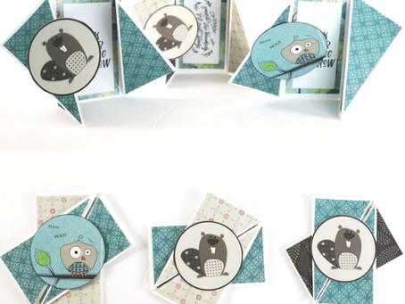 Twisted Gate Fun Fold Cards