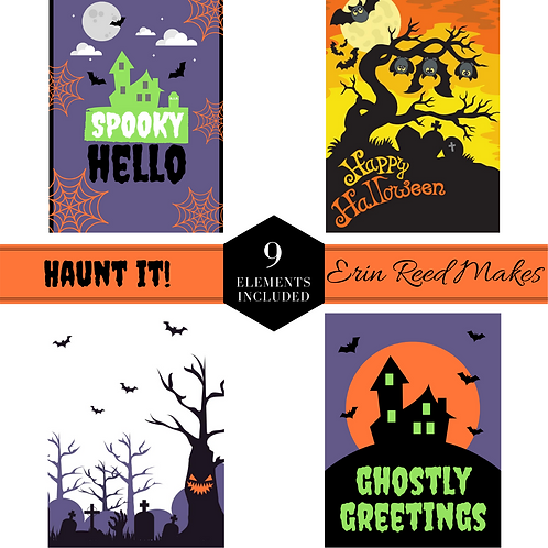 Haunt It! Journal Cards