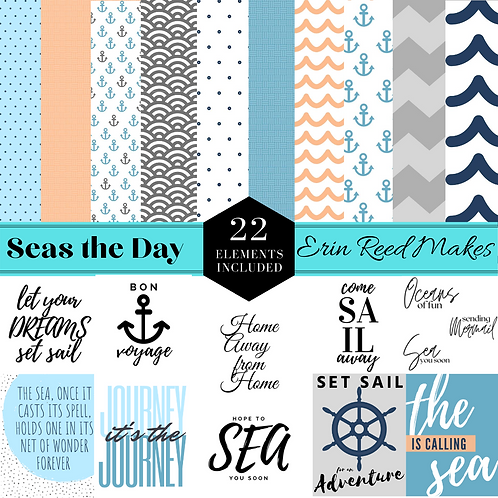 """Seas the Day"" Digital Craft Collection"