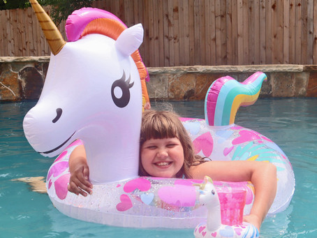 Glam Up Dollar Tree Inflatables with Sun Changing Vinyl