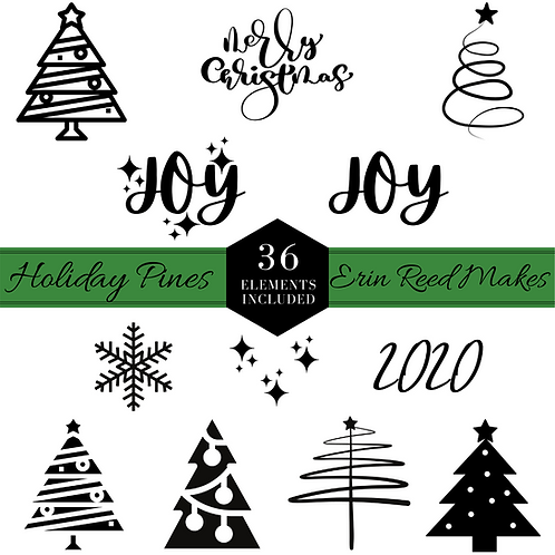 Holiday Pines Cut Files