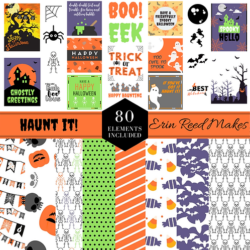 Haunt It! Digital Craft Collection