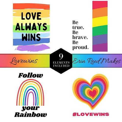 Lovewins Journal Cards