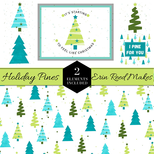 Holiday Pines Card Kit