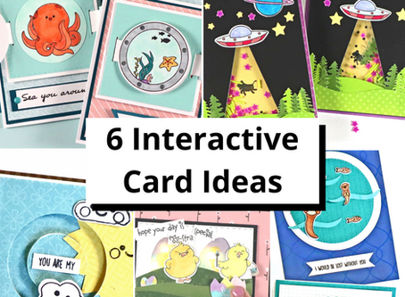 6 Fun Interactive Cards