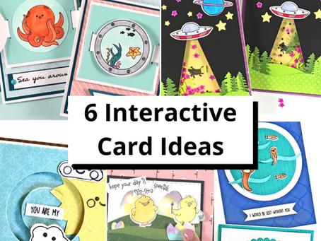 6 Fun Interactive Cards