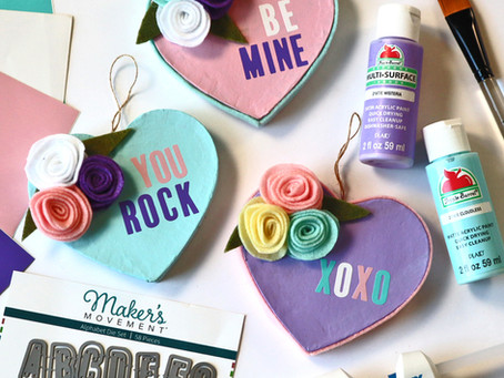 Home Decor | Cutie Conversation Heart Valentine Decor