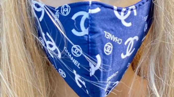 Chanel Navy Blue Mask
