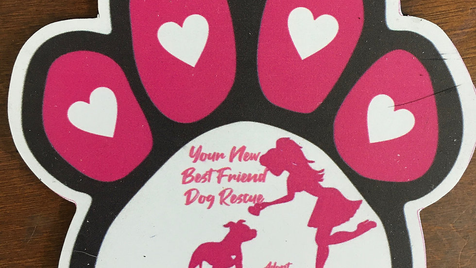 Your New Best Friend Dog Rescue magnets