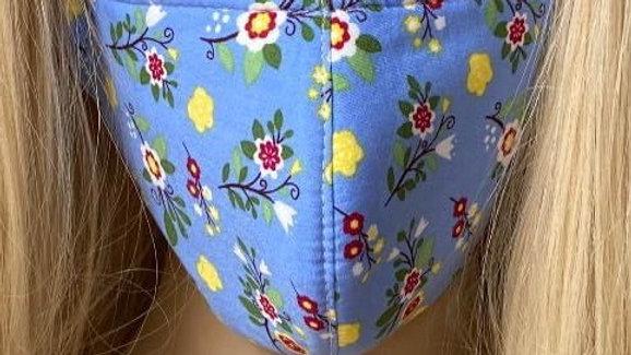 Tinker Bell floral Mask
