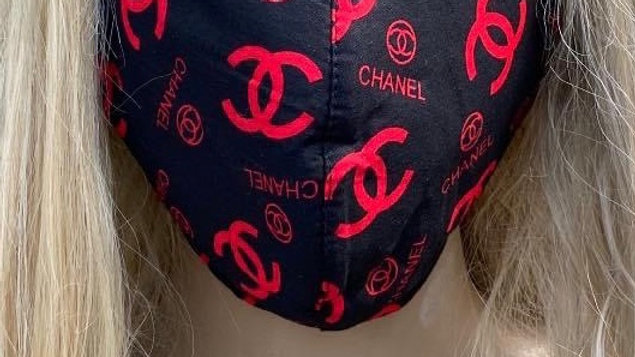 Chanel Red Mask