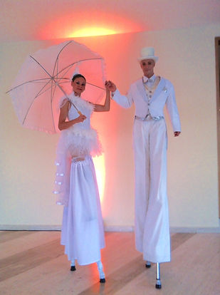 Echassiers blancs, accueil, Duo Fusion'Ailes, Tatiana Thomas et Stéphane Germain