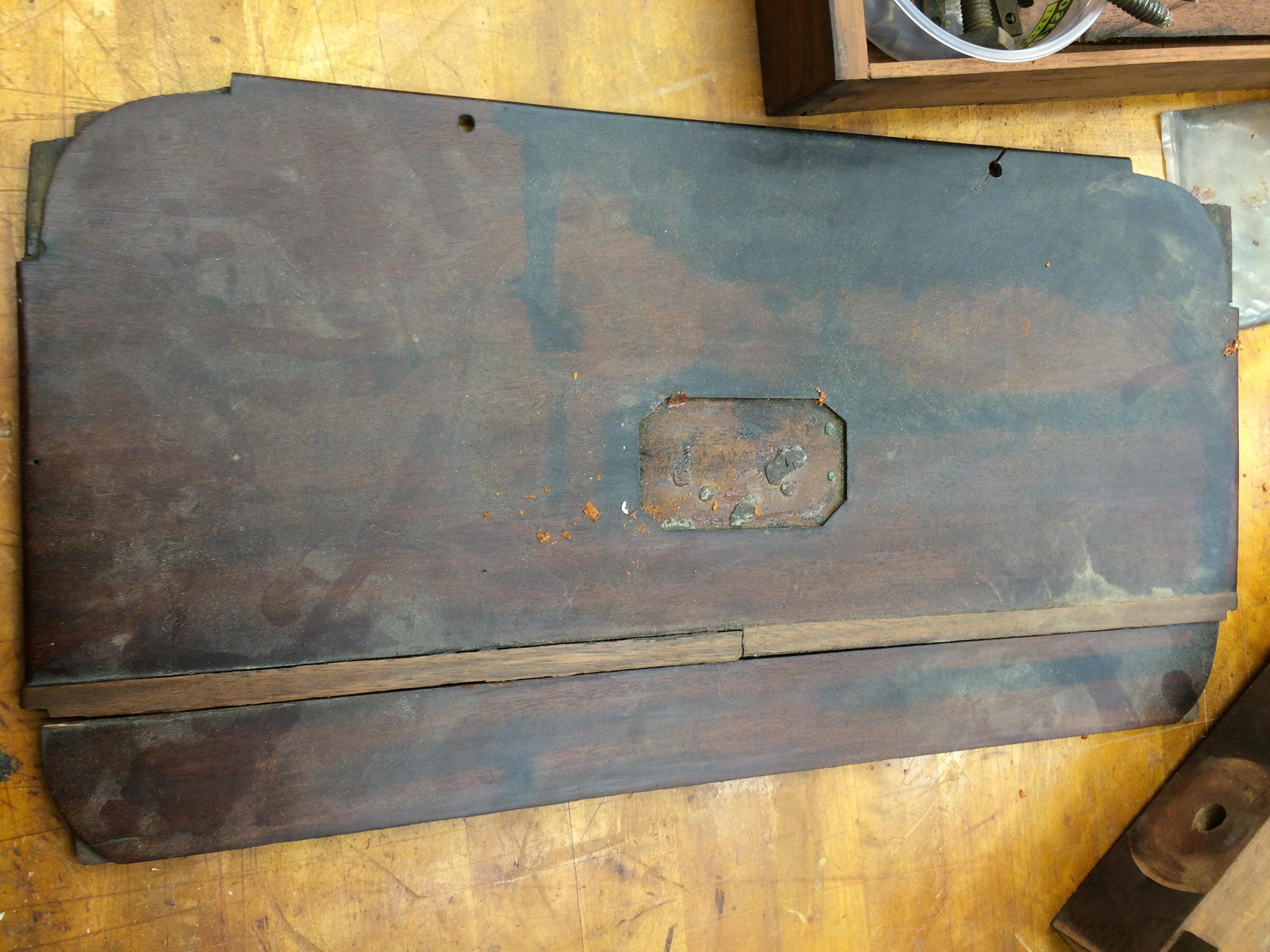 Broken box top