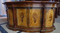 Serpentine Cabinet / French polish