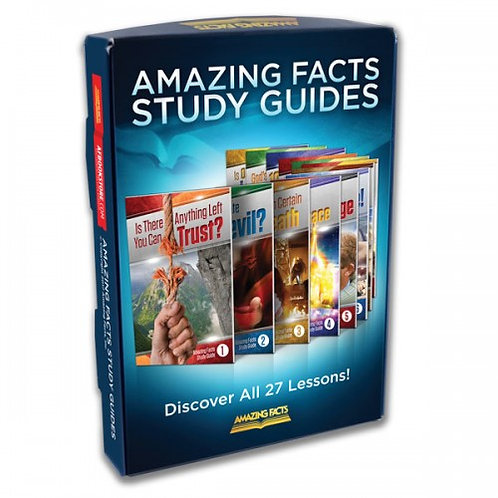 Amazing Facts Bible Study-27 Lessons